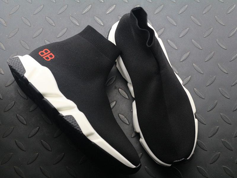 Balenciaga Speed stretch-knit Mid sneakers W05G01 For Sale
