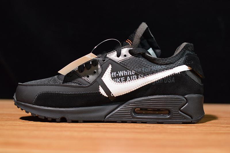 Off-White Air Max 90 Black Released Off-White Nike Air Max 90 Black Released Sale AA7293-001